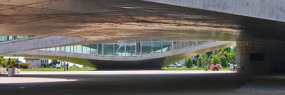 Rolex Learning Center, EPFL Lausanne